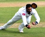 Vihari takes diving catch to mark County debut