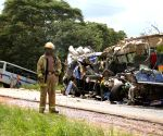 ZIMBABWE HARARE BUS ACCIDENT