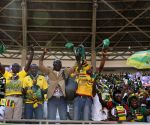 ZIMBABWE HARARE MNANGAGWA RALLY