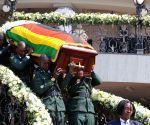 ZIMBABWE HARARE LATE MUGABE FUNERAL