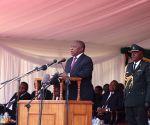 ZIMBABWE HARARE MUGABE STATE FUNERAL