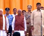 Manohar Lal, Dushyant Chautala take oath as Haryana CM and Deputy CM