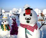 CHINA HARBIN SNOWMAN SPRING FESTIVAL