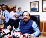 Harsh Vardhan takes charge as Health and Family Welfare Minister