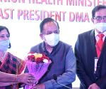 Harsh Vardhan, Union Minister for Health and Family Welfare during the inauguration of the 62nd  Delhi State Annual Medical Conference, in New Delhi