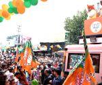 Haryana CM during 'Jan Ashirwad Yatra'