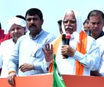 Haryana CM during 'Jan Ashirwad Yatra