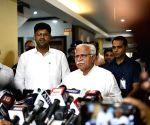 Manohar Lal Khattar's press conference