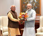 Haryana CM meets PM Modi