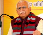 Haryana CM flags off two oxygen tankers, airlifted by IAF
