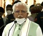 Haryana CM opens two Covid care hospitals