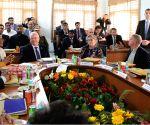 Israeli President visits vegetable centre in Haryana