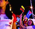 CUBA HAVANA VENEZUELA SUPPORT