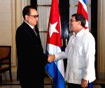 CUBA DPRK FM VISIT