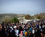 MIDEAST WEST BANK JEWISH SETTLEMENT HAVAT GILAD SHOOTOUT ATTACK VICTIM FUNERAL