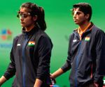 Heartbreak for India as Chaudhary-Manu pair finishes 7th in air pistol mixed team