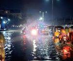 Heavey Rain in Hyderabad.
