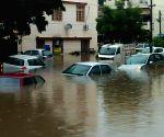 Heavy rains hit Chandigarh