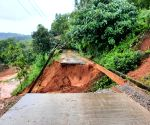 Heavy rains lead to landslide at Padil railway track near Mangaluru
