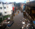 Heavy rains leave Chennai flooded