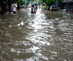 Water logged streets