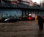 Rains leave Mumbai streets inundated