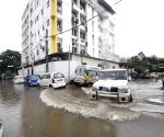 Heavy rains inundate Patna streets