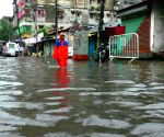 Rains leave streets waterlogged