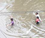 Heavy rains in Bihar capital