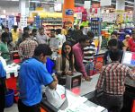 Post GST rush at shops