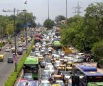 : RHeavy traffic jam at Vikas Marg ITO in new Delhi on Saturday June 19, 2021