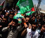The Palestinian young man was killed by Israeli fire during confrontations in the West Bank City of Hebron