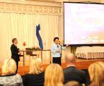 FINLAND HELSINKI CHINA LIU YANDONG VISIT