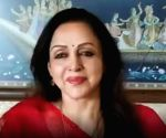 Hema Malini greets women in khaki for relentless service