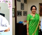 Free Photo:  Hema Malini mourns demise of her secretary