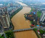 CHINA HUNAN HENGYANG XIANGJIANG RIVER FLOOD