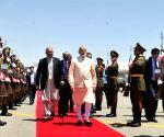 Herat (Afghanistan): PM Narendra Modi arrives in Afghanistan