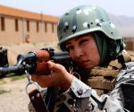 AFGHANISTAN HERAT BORDER POLICEWOMAN