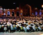 AFGHANISTAN HERAT RAMADAN TARAWIH PRAYING