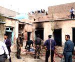 AFGHANISTAN HERAT SUICIDE ATTACK  MOSQUE