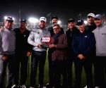 Newcastle (UK): Golfer Lee Westwood wins night golf contest 'Hero Challenge