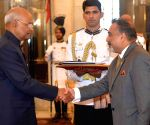High Commissioner of Fiji presents his credentials to President Kovind