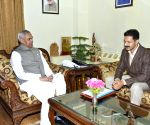 Devesh Kumar calls on HP Governor