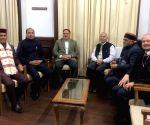 Jai Ram Thakur meets J.P. Nadda