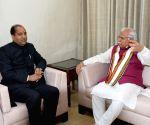 Himachal CM Jai Ram Thakur meets Haryana CM Khattar