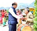 2019 Lok Sabha elections - Himachal CM during poll campaign