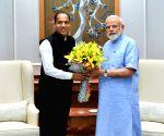 Himachal CM meets PM Modi