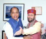 Himachal CM meets Prakash Javadekar