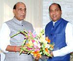 Himachal CM meets Rajnath Singh