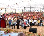 """Himachal CM at """"Labharthi Sammalen"""""""